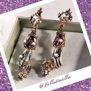King & Queen of The Dead Gypsy Boho Earrings